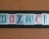 Personalized name sign custom wall art