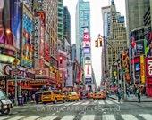 Times Square New York City NYC USA  -  8x10 Color Fine Art Print