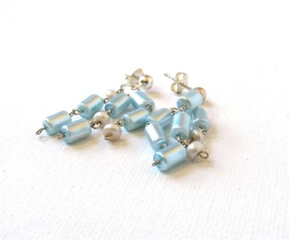 SALE: Arctic Waterfall Earrings