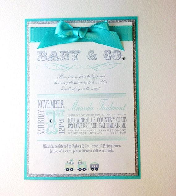 Baby & Co. Custom Baby Shower Invitations