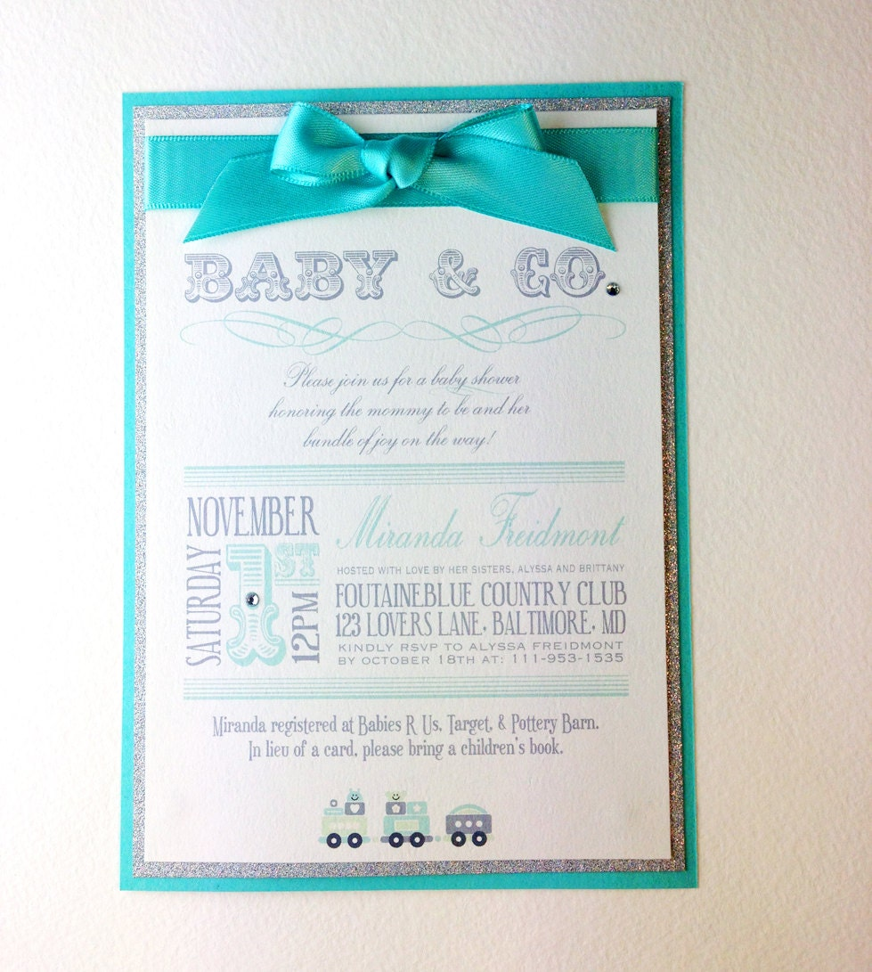 baby co custom baby shower invitations