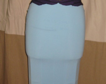 Two piece blue and purple mermaid costume