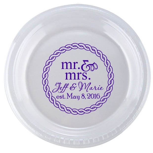 monogrammed plastic plates 500 personalized 9 disposable plastic plates wedding 9in . monogrammed plastic plates personalized ...  sc 1 st  Roteryd.info & monogrammed plastic plates] - 51 images - personalized plastic ...