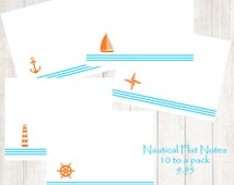 Popular Items For Nautical Note Cards On Etsy