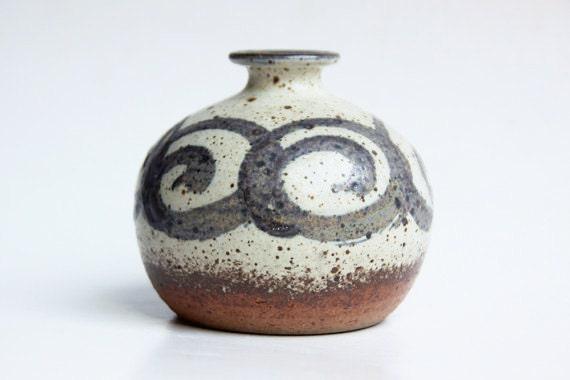 Danish Globe Vase/ Candle Holder - Tingkeramiek 60s 70s