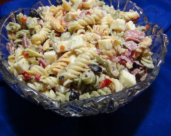 Pasta Salad Italiano--PDF Recipe