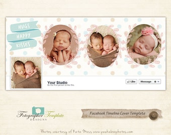 Timeline Cover Template for Facebook Banner Photography Marketing Templates - FC027