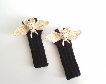 Last minute discount,Original Design Cute Bat  gloves,touch screen gloves costume,  kids, children clothing, gift, birthday, boy, girl