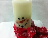Frosty LED Candle