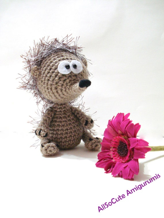 Items similar to Crochet Pattern, Hedgehog, Instant ...