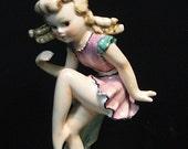 Rare 1940s Goebel  Erna Reibert  Nasha Girl Dancing Figurine