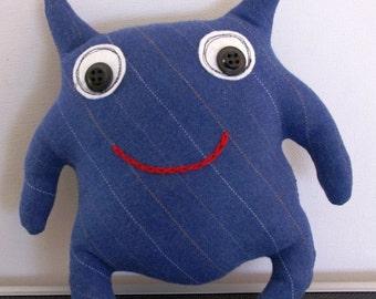 OOAK  Plush Softie Monster Doll