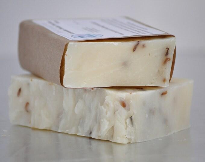 Lavender Fields Forever Soap -- All Natural Soap, Handmade Soap, Barely Scented Soap, Hot Process Soap, Vegan Soap, Lavender Soap