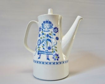 Vintage Teapot Coffee Pot TURI DESIGN LOTTE 1960s Norway