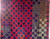Antique Vintage PATCHWORK BLOCK Quilt Wonderful GRAPHIC Appeal
