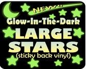 Glow In The Dark Stars / Glowing Moon / Glowing Stars / Stickers / Decals / Nursery Decor / Glow Dark Stars / Night Sky / Night Light