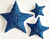 Star Shaped Pillow  Constellation