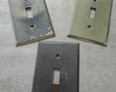 Destash lot brass light switch plates