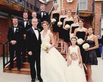 Wedding Earrings, Bridal Earrings, Rhinestone Pearl Drop, Bridal Jewelry, Wedding Jewelry, Bridesmaids Jewelry