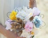 Industrial Chic Paper Bouquet