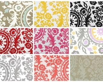 """18"""" Ottoman Pouf Floor Pillow Suzani"""