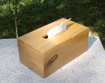 "The BlackWater TBC - Burmese Teak Tissue Box Cover ""TALL"""