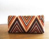 Wedding Clutch, Geometric Clutch, Purple Evening Handbag, Mother's Gift, Unique Gift for Her