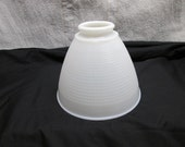 Ceiling or Pole Lamp Light Cover, Milk Glass, lighting supplies