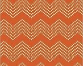Windham Fabrics - Mosaica by Jackie Shapiro for French Bull - Mono Chevron in Orange - By The Yard