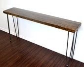 SALE ITEM Reclaimed Wood Entry Way Table Or Console Table
