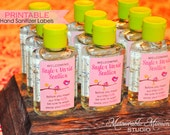 PRINTABLE Little Birdie Mini Hand Sanitizer Labels for Baby Shower - Tweet Bird Baby Shower Favors - Memorable Moments Studio