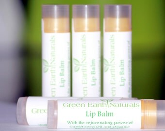 Organic Healing Shea and Cocoa Butter Lip Balm