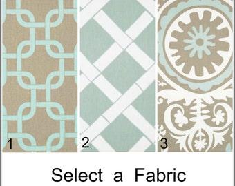 Suzani Custom Rod Pocket Curtains Grommet Panels Pinch Pleated Drapes Tab Top Panels Powder Blue Curtains 50x60 - 50x108