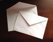 Various Envelopes White