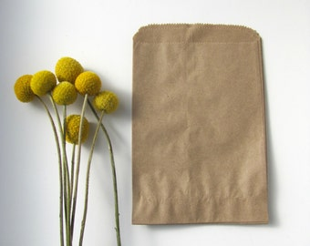 Kraft Paper bags Favour bags Rustic wedding paper bags