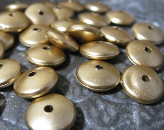 Drop Beads CCB Acrylic Lightweight 10mm  Antique Bronze color 30 pieces