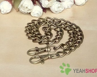 Antique Brass / Silver Bag Chain / Purse Chain - 60cm / 24 inch (BC5)