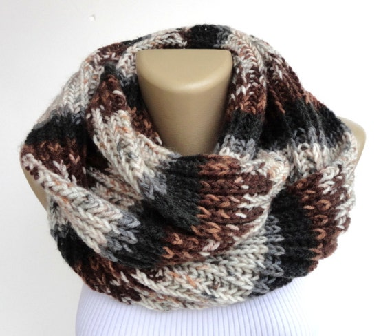 winter men scarf knitted unisex scarves Cowl hood loop winter Neck  Men's Knitted Winter Scarves