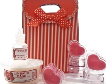 DIY Lip Balm Kit - Make your Own Lip Balm - Do It Yourself Kit for Tweens - Teens