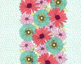 Garden Path in Pastille - Michael Miller Fabrics - 1 yard