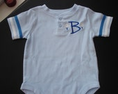 Golf themed polo style onesie for baby boys