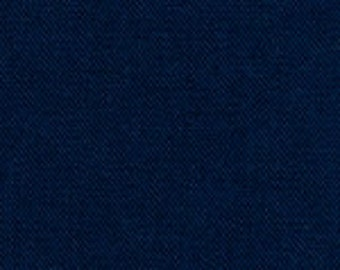 Navy Twill Fabric Finders 60W 100% cotton