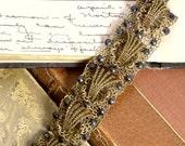 Vintage Filigree Bracelet with Stones Signed Austria