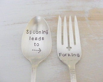 Spooning Leads to Forking Set Spoon and Fork Set