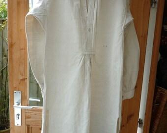 Fabulous Pristine antique Linen French shirts