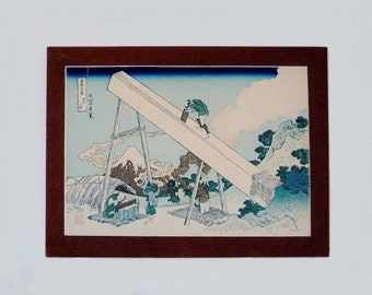 Vintage Japanese Picture Framed