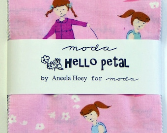 Hello Petal by Aneela Hoey for Moda - Charm Pack
