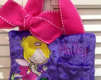Tooth Fairy Pillow Princess and Frog for Girls Personalized Great Birthday Gift