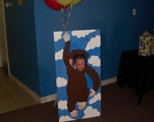 Curious George Birthday Character Photo Prop