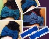 Crochet Interchangeable Bow Headband **PDF Pattern ONLY**